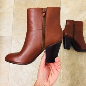 Nine West Leather Boots | Size 5